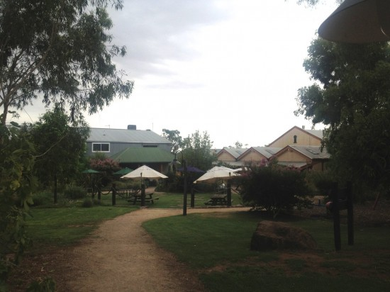 Bailey's winery near Glenrowan, where Ned Kelly made his final stand